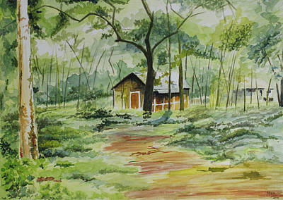 kerala house paintings fine art america