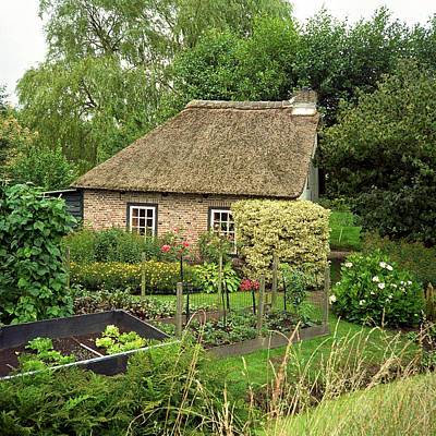 Photograph - House And Garden by Cornelis Verwaal