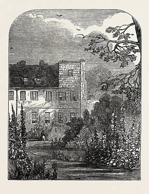 Coleridge Drawing - House At Highgate In Which Coleridge The Poet Died by English School