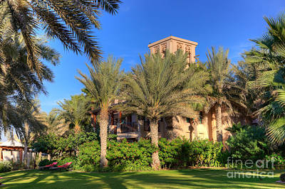 House At Madinat Jumeira Dubai Print by Fototrav Print