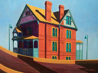 Painting - House By The Freeway by Ruth Soller