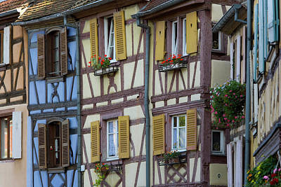 House, Colmar, Alsace, France Art Print