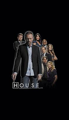 Gregory House Digital Art - House - Crew by Brand A