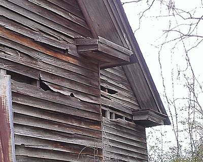 Photograph - House Detail by Lew Davis