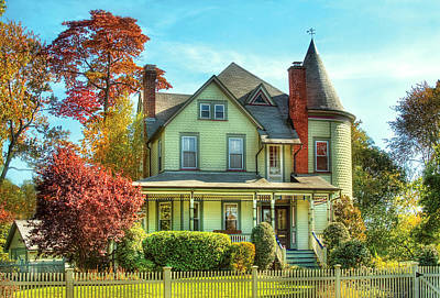 Photograph - House - Dream House Fantasy  by Mike Savad