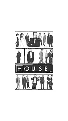 Gregory House Digital Art - House - Film by Brand A