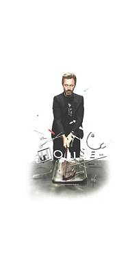 Gregory House Digital Art - House - Hit It by Brand A