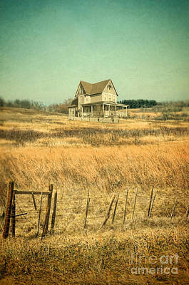 Photograph - House In A Field by Jill Battaglia