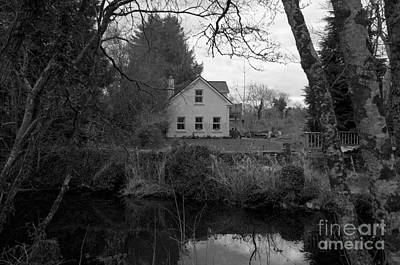 Photograph - House In Country Ireland by Louise Fahy
