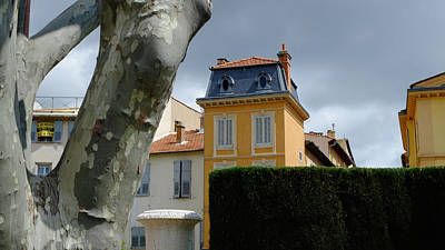 House In Grasse Art Print