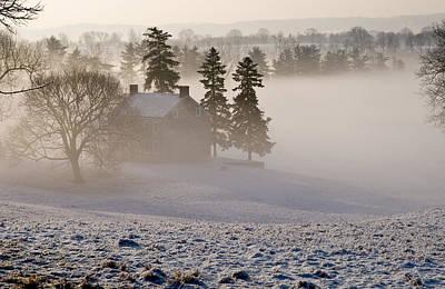 House In The Mist Art Print