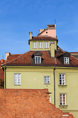 House In The Old Town Of Warsaw Art Print by Artur Bogacki