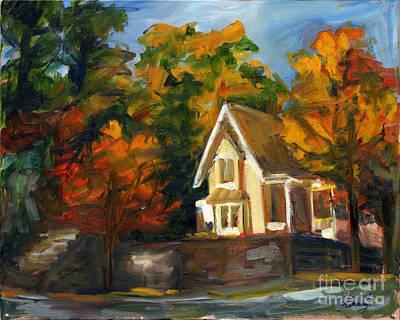 House In The Sun Art Print