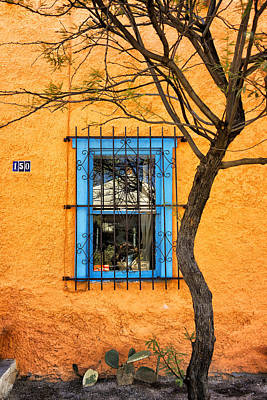 Photograph - House In The Tucson Barrio Dsc08626 by Greg Kluempers