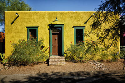 Photograph - House In The Tucson Barrio Dsc08650 by Greg Kluempers