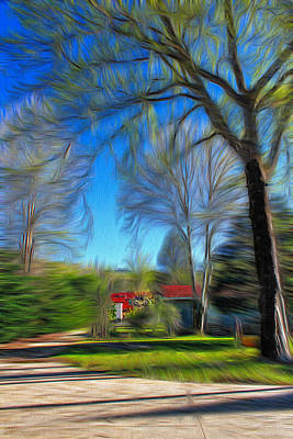 Photograph - House In The Woods by Carlos Diaz
