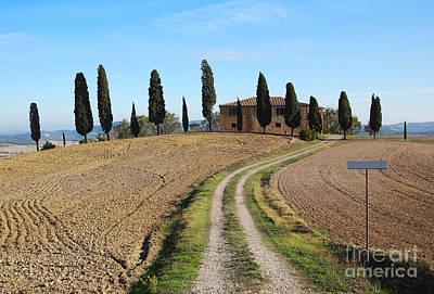 Photograph - House In Tuscany by IPics Photography