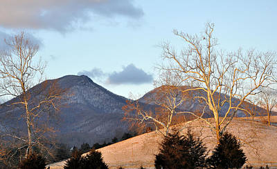 House Mountain Virginia Print by Todd Hostetter