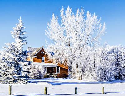 Winter Photograph - Dreaming... by Viktor Birkus