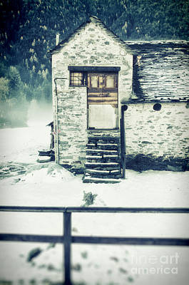 Photograph - House Near The Wood by Silvia Ganora