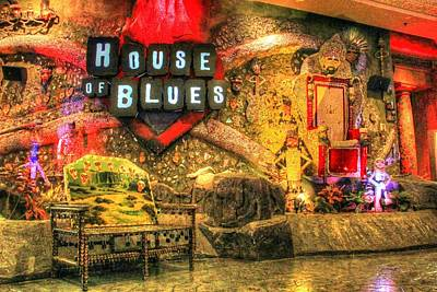 Voodoo Shop Photograph - House Of Blues In Las Vegas by Zane Kuhle