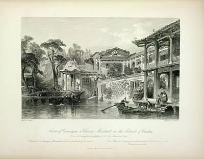 Suburban Photograph - House Of Conseequa by British Library