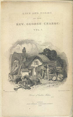 Of The Countryside Photograph - House Of Crabbe's Father by British Library