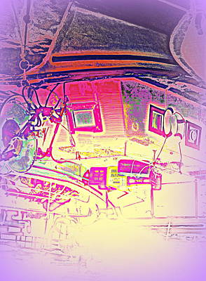 is it the house of dreams or the dream of houses, I don't know  Art Print