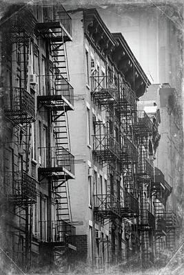 Balcony Photograph - House Of Manhattan, New York City by Zodebala