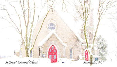 Art Print featuring the photograph O Come All Ye Faithful by Margie Amberge
