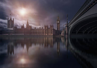 Big Ben Wall Art - Photograph - House Of Parliament by Iv?n Ferrero