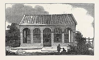 House Of Peter The Great, At Saardam Or Zaandam Art Print