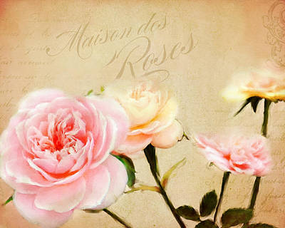 Painting - House Of Roses by Jai Johnson