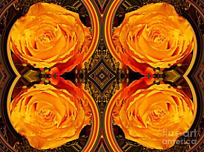 Digital Art - House Of Roses by Sarah Loft