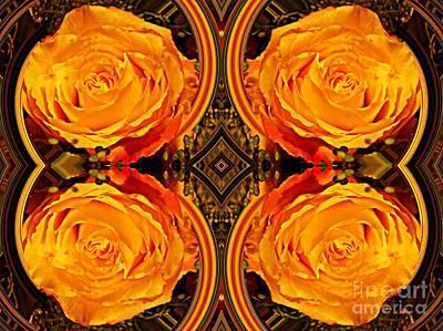 Digital Art - House Of Roses by Sarah Loft