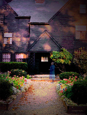House Of Seven Gables Art Print