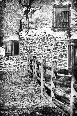 House Of Stone Art Print by John Rizzuto