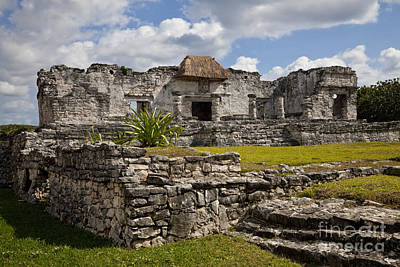 Maya Civilization Photograph - House Of The Halach Uinic by Ellen Thane