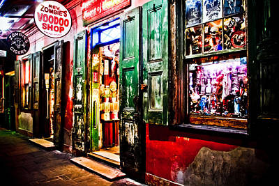 Voodoo Shop Photograph - House Of Voodoo by Gary Ezell