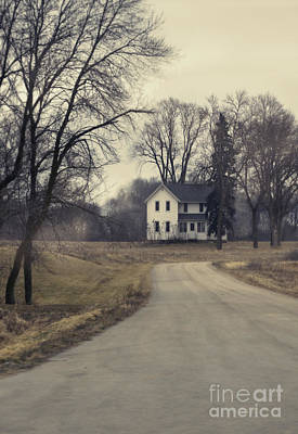 Photograph - House On A Curvy Road by Jill Battaglia