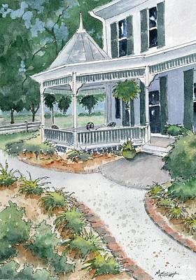 House On Knoops Farm Original by Marsha Elliott