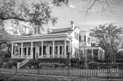 Photograph - House On St. Charles Ave Nola by Kathleen K Parker