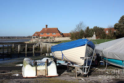 Photograph - House On The Harbour Bosham by Terri Waters