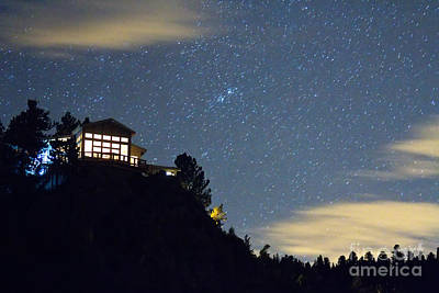 Stary Photograph - House On The Hill by James BO  Insogna
