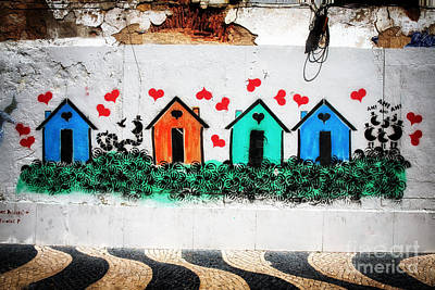 House On The Wall Art Print