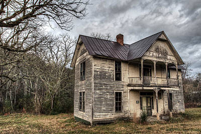 Photograph - House On Union Hill by Aaron Morgan