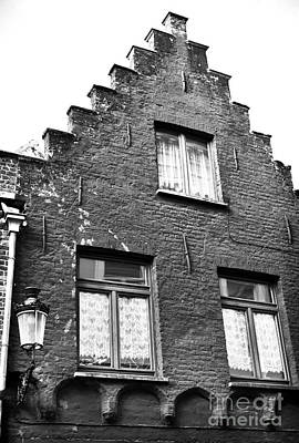Old School House Photograph - House Patterns by John Rizzuto