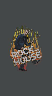 Gregory House Digital Art - House - Rock The House by Brand A