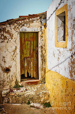 Rubble Photograph - House Ruin by Carlos Caetano