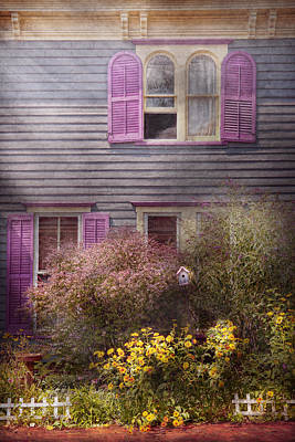 House - Victorian - A House To Call My Own  Art Print by Mike Savad
